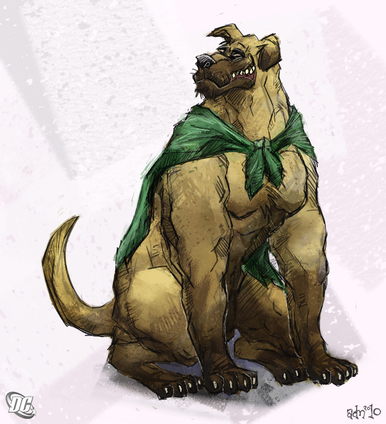 The Hero Hound, Wonderdog By Aokamidu On Deviantart