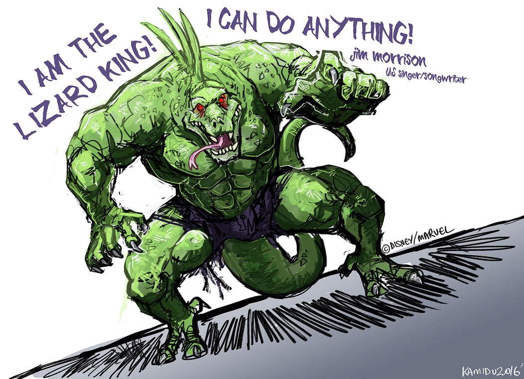 Amazing Wallpaper Marvel Lizard - the_lizard_king_by_aokamidu-d9v5sqc  Perfect Image Reference_84851.png