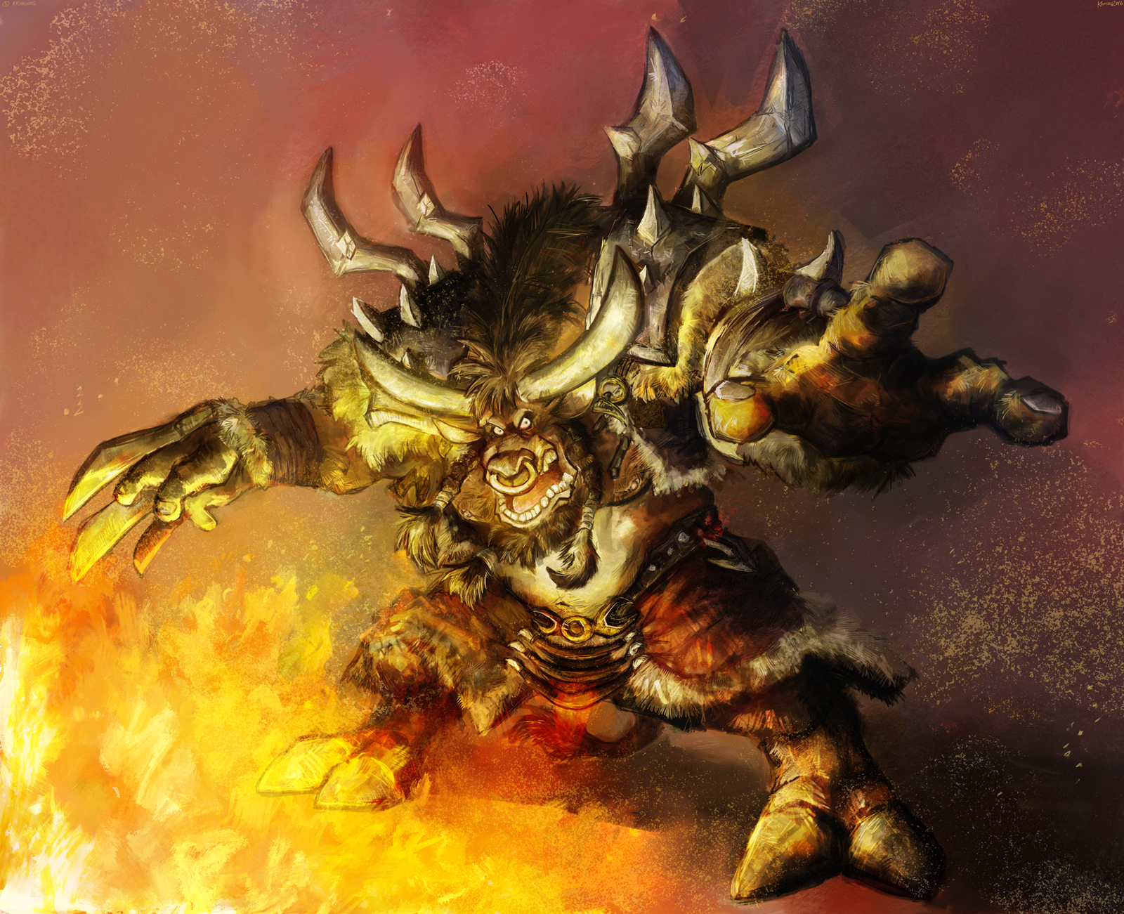 Tauren whorelore monster nsfw pic