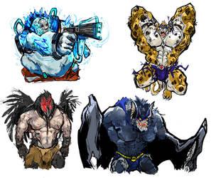 Not Mutants, Meta-Humans... by aokamidu