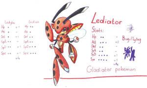 Lediator, evo of ledian by FakeMakeT