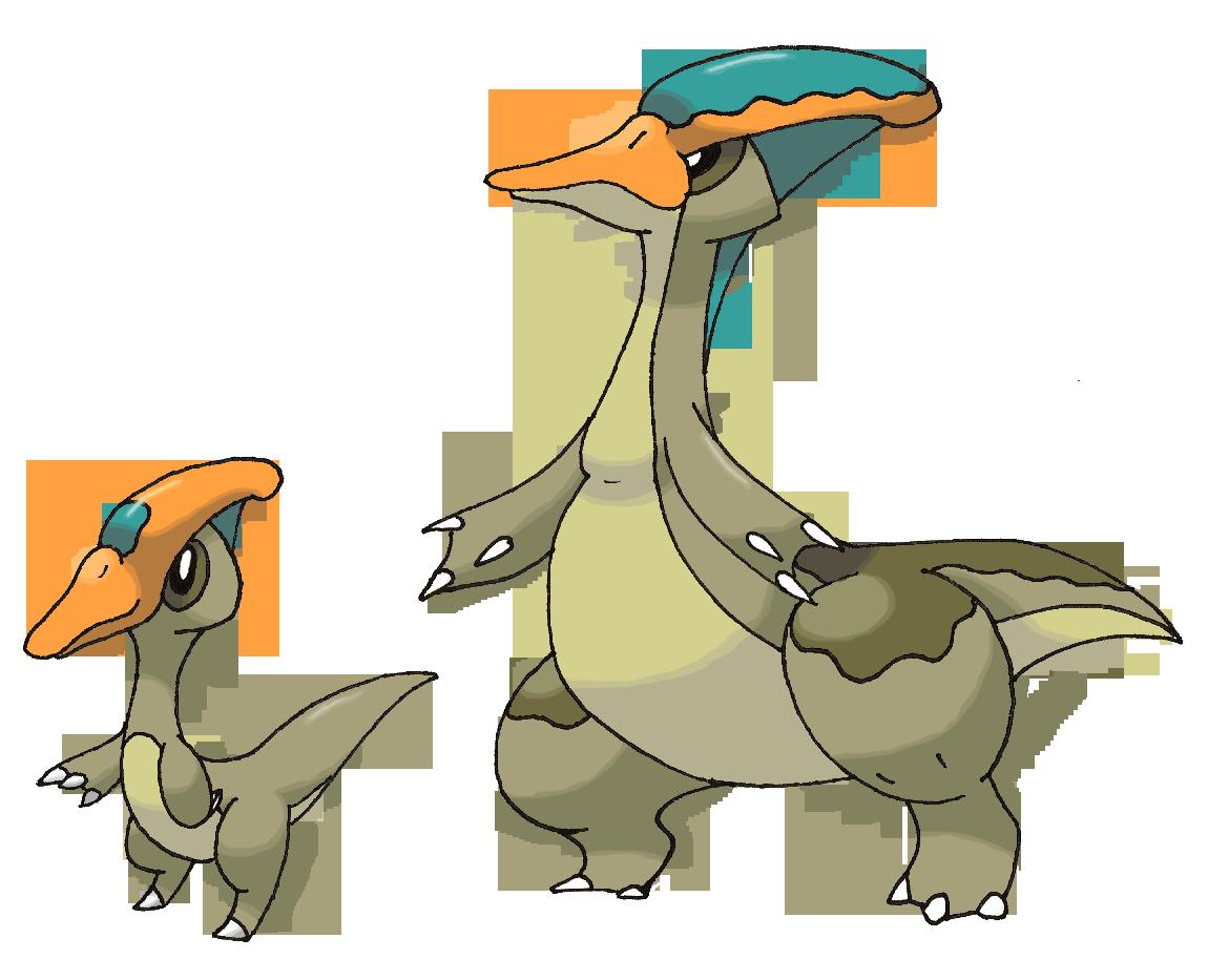 Parasaurolophus Pokemon By FakeMakeT On DeviantArt