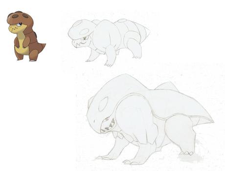 Dragon-Rock Pokemon