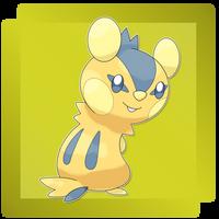 Bashimarisu, Chipmunk Fakemon by FakeMakeT