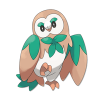 Rowlet Evolution: Fowliage