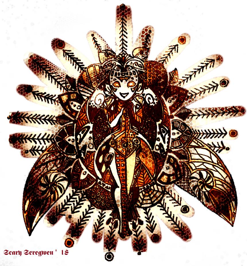 The Cicada by ScarySeregwen