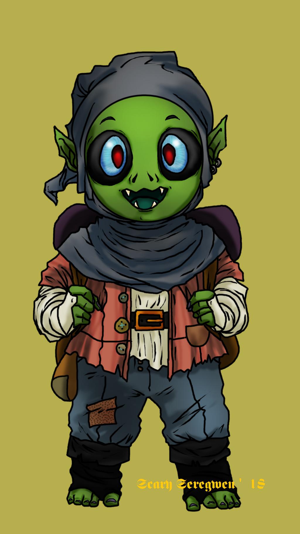 Bedbug the Goblin by ScarySeregwen
