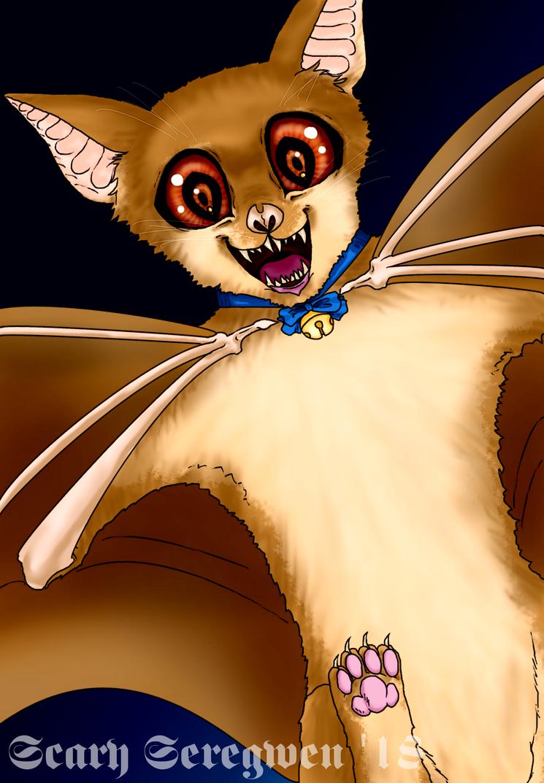 Catbat by ScarySeregwen