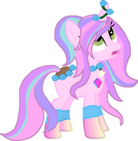 Cotton Candy The Lei-Pony