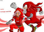 Luka and Knuckles, Nintendolover105's request