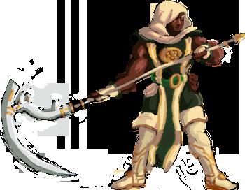 Zasalamel Sprite (KOF XIII style) by Nighteba
