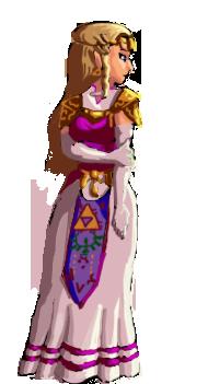 Princess zelda sprites