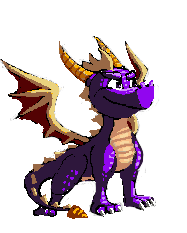 Spyro Sprite by Nighteba