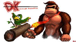 Simian Assassin by Nighteba
