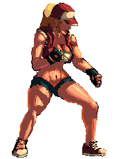 Terry Bogard Sprite (Midnight Bliss edition) by Nighteba