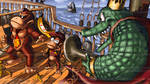 Krucial Kombat (Kongs vs K Rool) by Nighteba