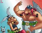 Asterix et Obelix by Nighteba