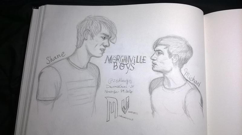 Morganville: Boy Stare Down by DrummerGurl-JV