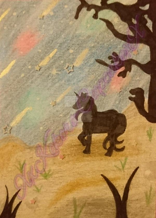 Unicorn Starwish  by XxKokoroCupcakexX