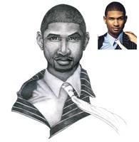 Usher by Zee17