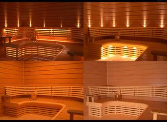 Sauna IES lighting tests by HajaVaikutus