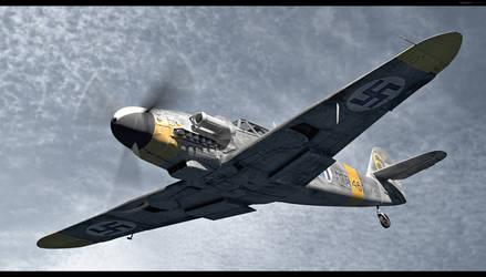 Messerschmitt Bf 109G-6 upd by HajaVaikutus