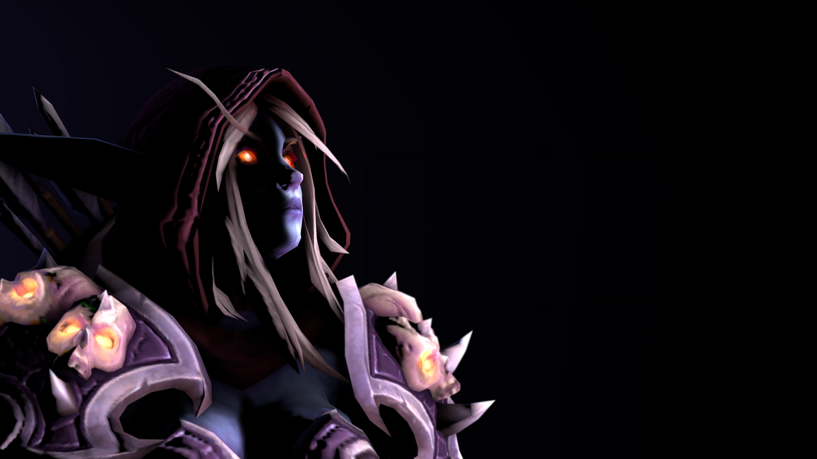 The Banshee Queen, Sylvanas Windrunner by GrandFloggy