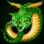 Quetzal the Cat Snake
