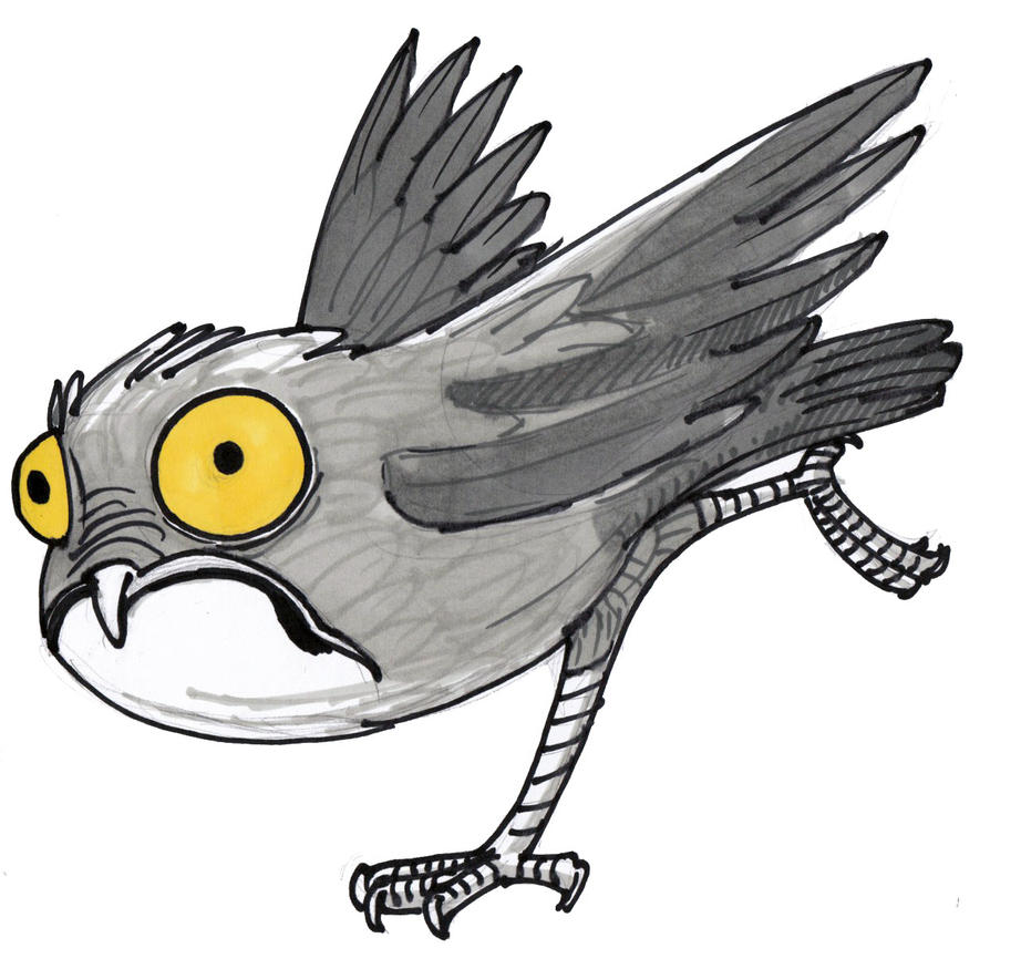 Inktober Day 29 - Potoo Two by Hituro