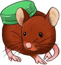 Inbetween small art - Capmouse by Hituro