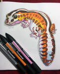 Inktober 2018: 21 Gecko