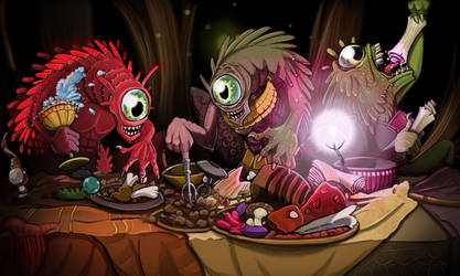 Nothic Feast by Hituro