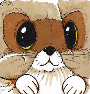 Inktober 2019 - Day 29, Furry critter