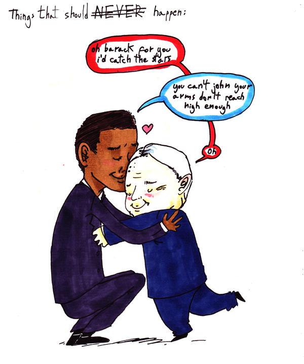 i ship obama+mccain by StrangeWeirdo