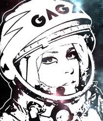 Lady Gagarin by StrangeWeirdo