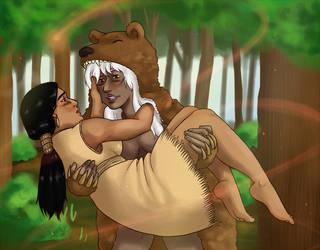 Song of Bear by StrangeWeirdo