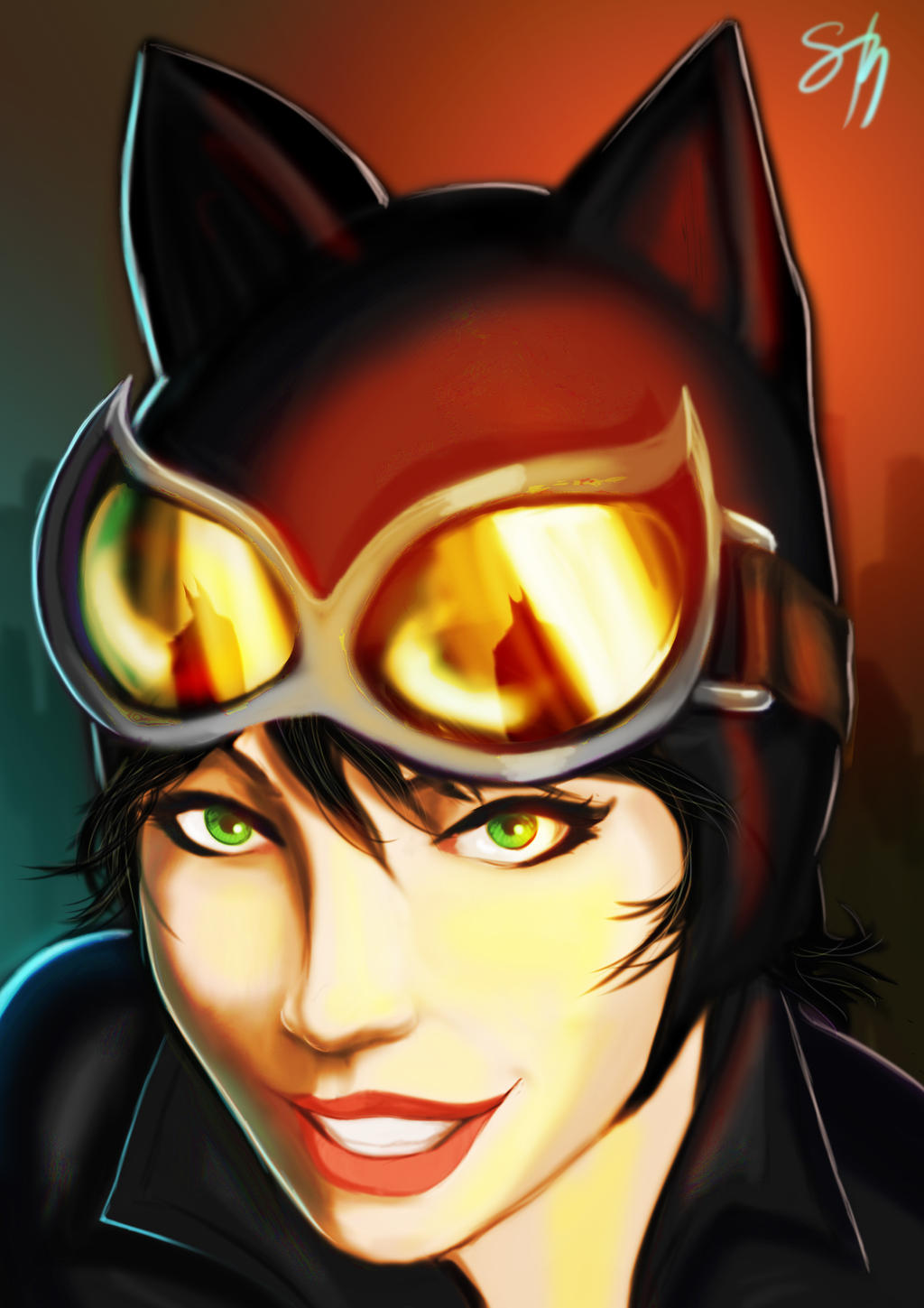 Between Claws and Wings - Catwoman's POV by sehroyal