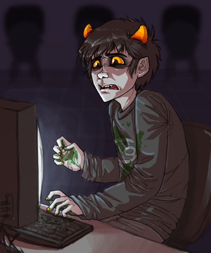 homestuck challenge day 4 by Yoccuri