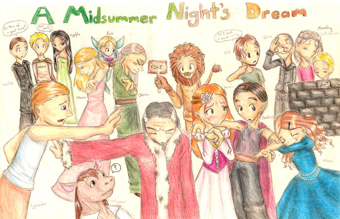 character essay midsummer nights dream This essay midsummer night's dream by william shakespeare shows how the play is related to the greek satyr as well this essay analyzes the comical character.