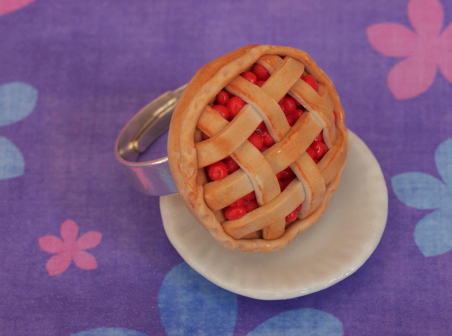 Cherry Pie Ring by DeliciousTrickery