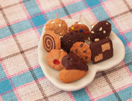 Earrings - Cookie Collection by DeliciousTrickery