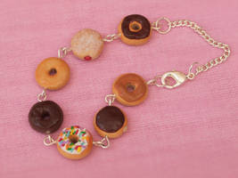 Classic Donuts Bracelet by DeliciousTrickery