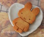 Bunny Cookie Pendant