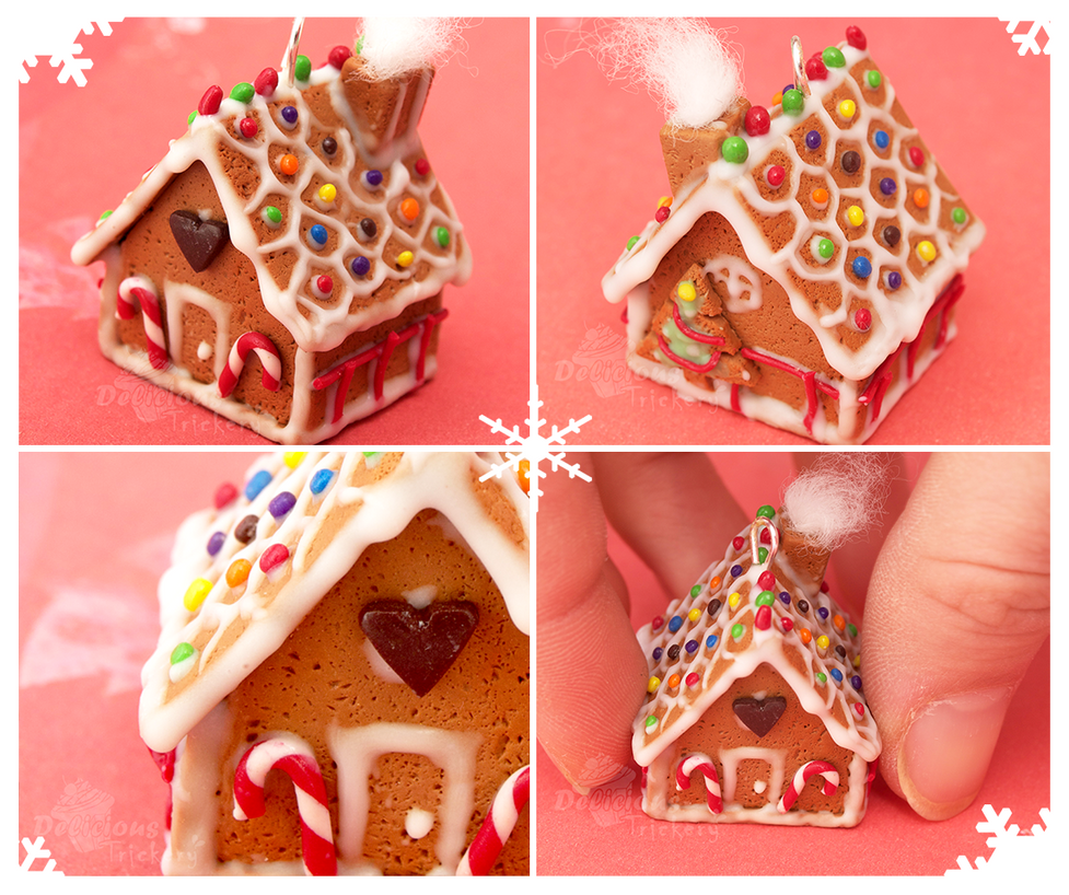 Gingerbread House by DeliciousTrickery