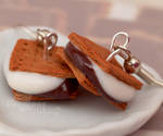 Smushed S'mores Earrings