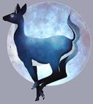 The Moon by alcinda