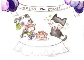 Happi birthday to Juuu :3 by Yomiell