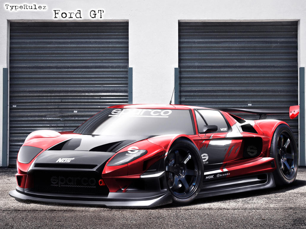 track Ford GT by ~typerulez on