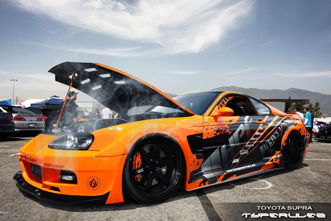 has just arrived- toyota supra by typerulez
