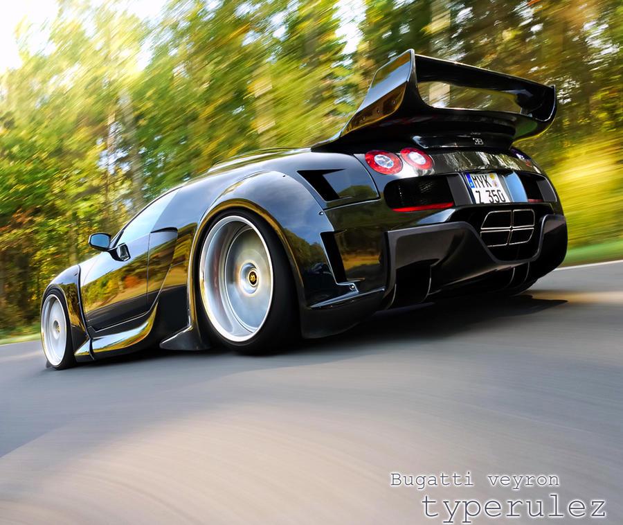 bugatti veyron by typerulez